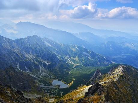 pohled do Kolového údolí z Jehněčího štítu
