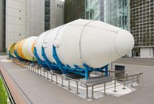 raketa před Muzeem vědy a techniky