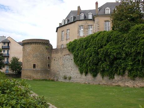zbytek římské hradby