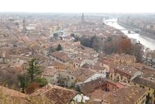 смотровая площадка с холма Castel San Pietro