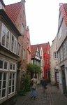 typické uličky ve čtvrti Schnoor
