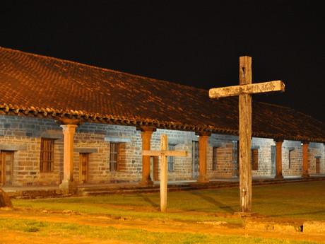 San Cosmé y Damián – kostel za tmy