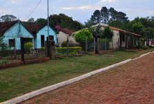 ulička v San Cosmé