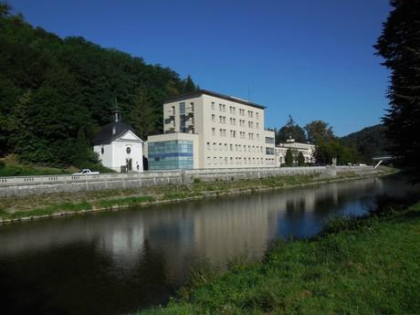 Teplice nad Becvou – River Becva