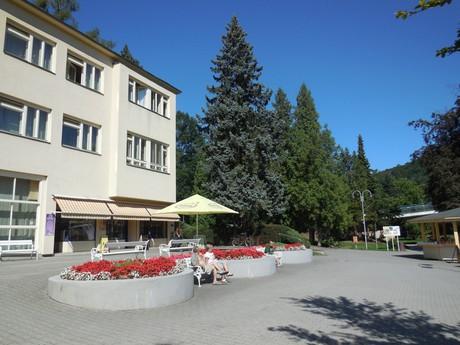 Teplice nad Bečvou - kúpele