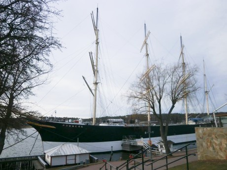 Pommern, a four-masted vessel
