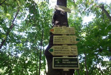 туристический маршрут к Границкой пропасти (směrovníky)