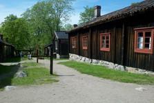 skanzen Luostarinmäki