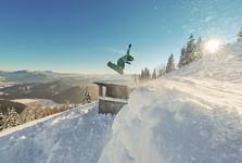 snowboardista na Mitterbachu, (c) Leiminger