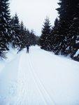 Travelling from Vaclavikova Studanka to Sedlo pod Zamky