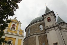 the assumption of the virgin mary basilica and sarkander chapel