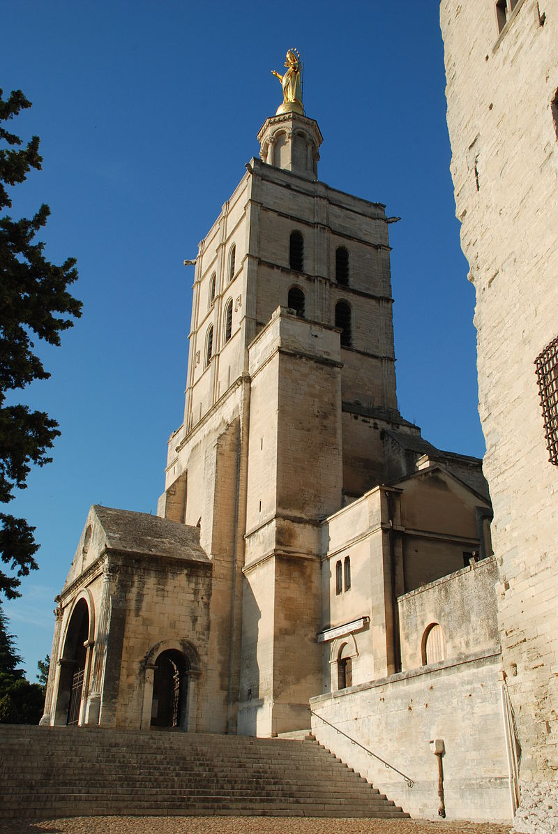 france avignon u2013 landmarks in the city and around it en