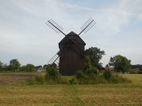 skanzen (větrný mlýn)
