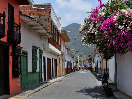 a street in Santa Fe