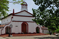 the church of Nuestra Señora del Carmen