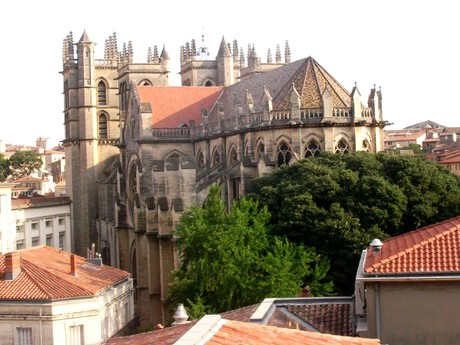 Montpellier – katedrále sv. Petra