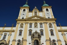 Svatý Kopeček - chrám Navštívenia Panny Márie