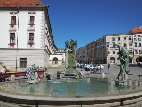 Olomouc - Arionova kašňa