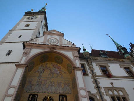 Olomoucký orloj, radnica a vyhliadková veža