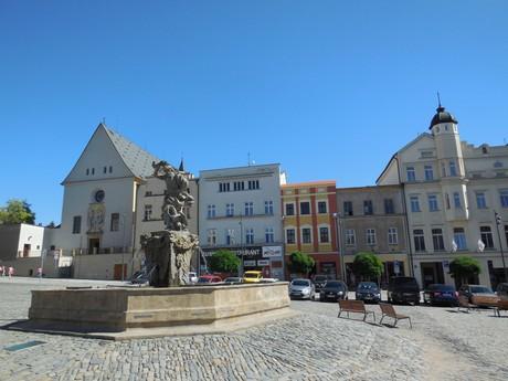 Olomouc - Jupiterova kašňa