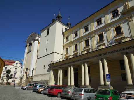 Archbishopric seminary and St Michael church