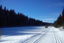 Шумавская магистраль - вдоль Рокланского потока