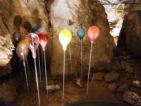Zbrašovské aragonitové jaskyne - umenie