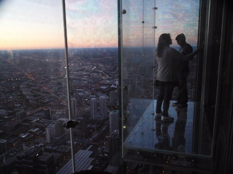 Skydesk na Willis Tower