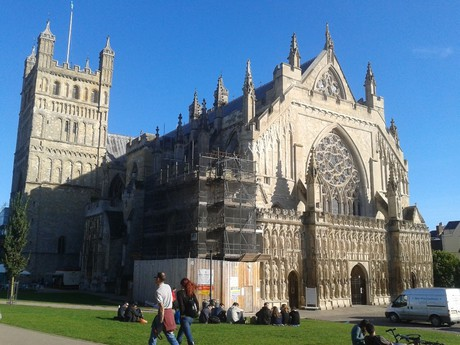 Exeter – cathedral
