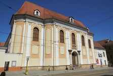 Olomouc - Churh of St Klara and the kloister