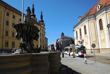 Olomouc - Republiky Square (Tritons fountain)