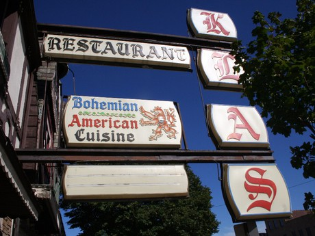 there is a Czech restaurant in Cermak Road