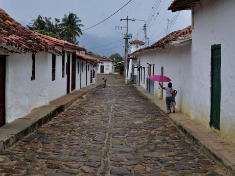 ulička v Guane