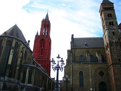 Maastricht - St John church and St Servatius basilica