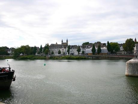 Maastricht - pohled na centrum