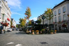 Maastricht - a street leading to the center