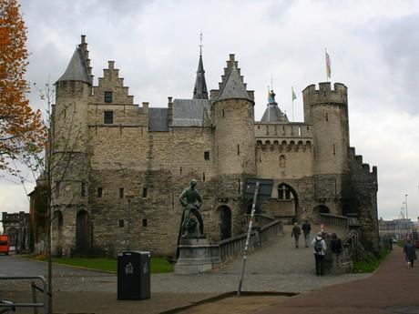 Antverpy - hrad