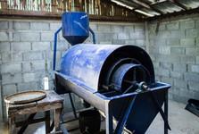 оборудование, где перерабатывается кофе
