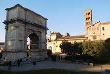 Forum Romanum – Konstantinův oblouk