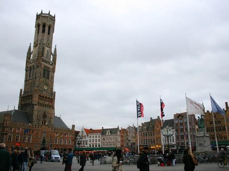 Bruggy - historické náměstí
