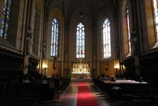 Olomouc - Katedrála sv. Václava (interiér)