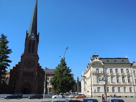 Olomouc - Červený kostol