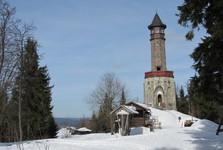 rozhledna Štěpánka, vrch Hvězda