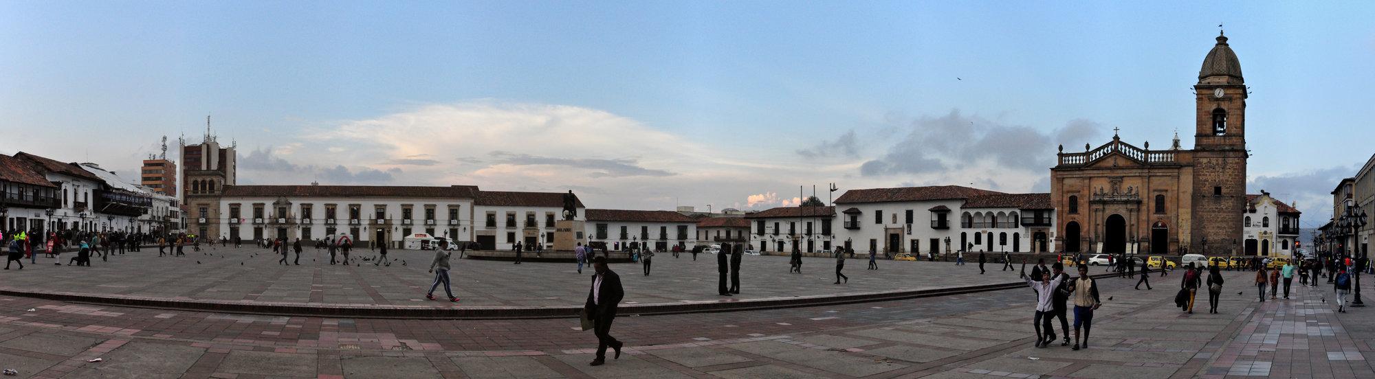 Plaza de Bolívar de Tunja