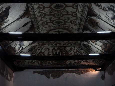 strop v Muzeu Gonzala Suáreze Rendóna