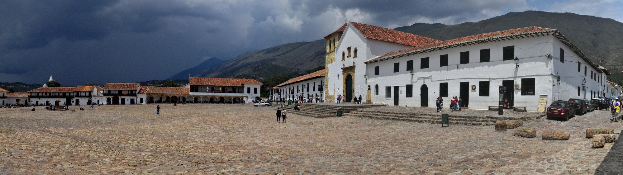 námestie Villa de Leyva
