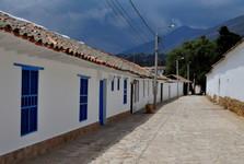 ulička ve Villa de Leyva