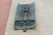 Kroměříž - pamätná tabuľa Karla Kryla