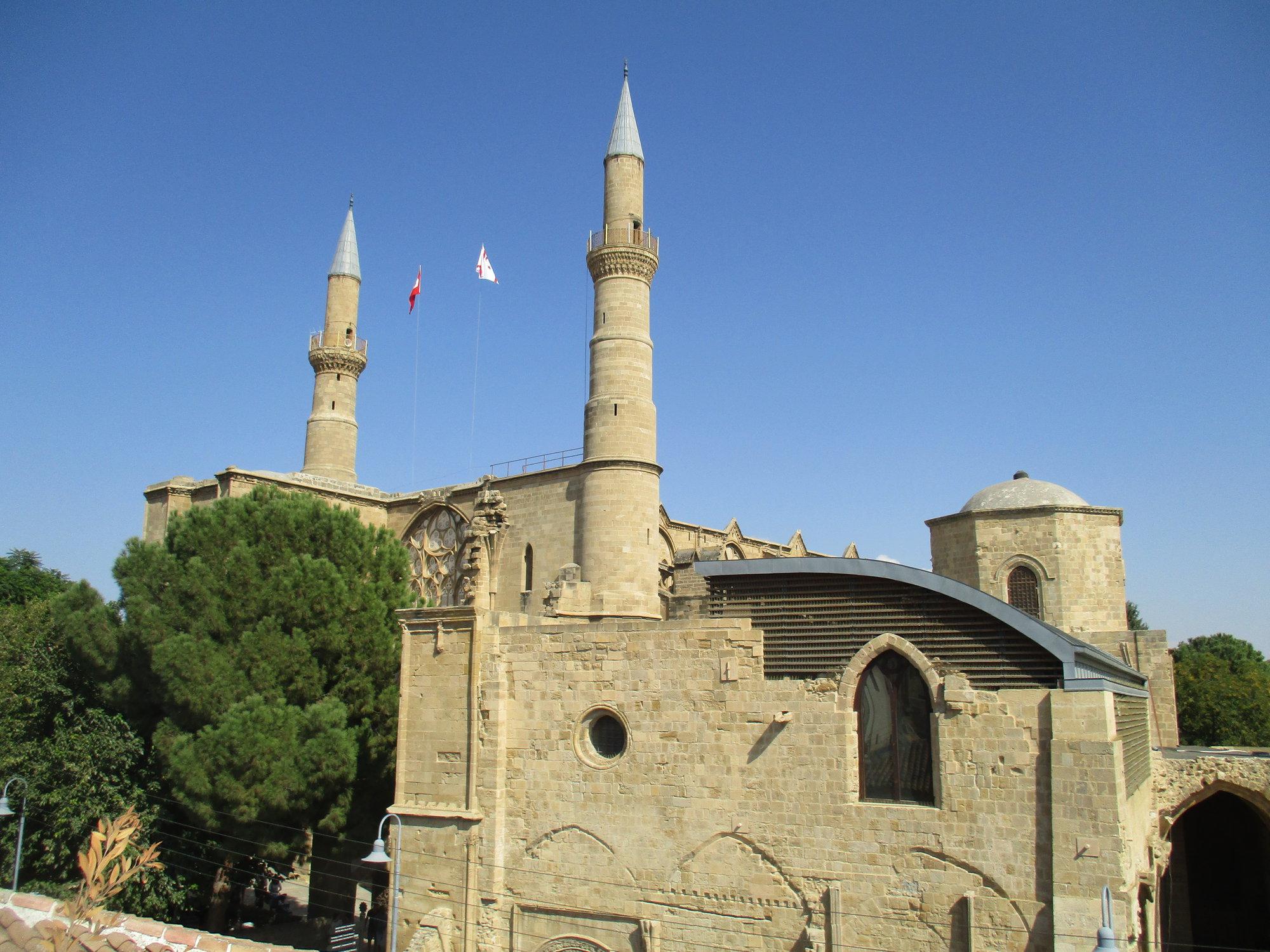 mešity Selimiye byla dříve katedrálou sv. Sofie