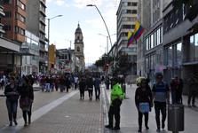 nedeľa v Bogote